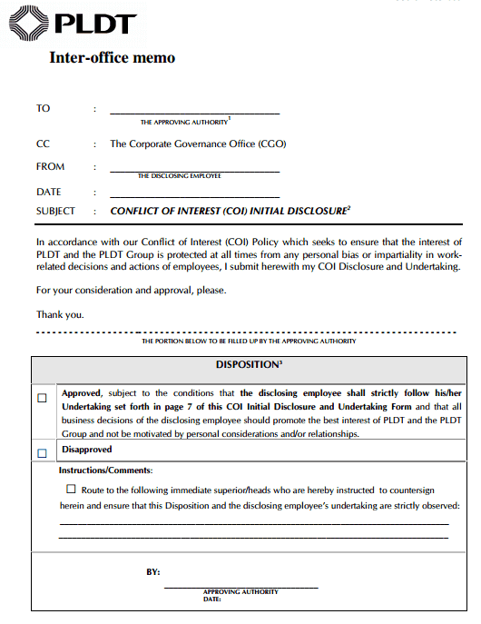 Interoffice Memo Templates - Word Templates Docs