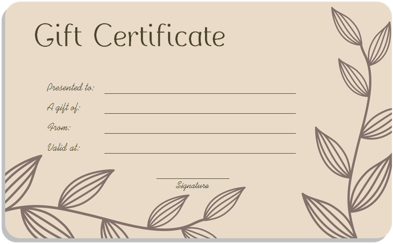 photo about Printable Gift Certificate Template named Reward Certification Templates - Term Excel Formats