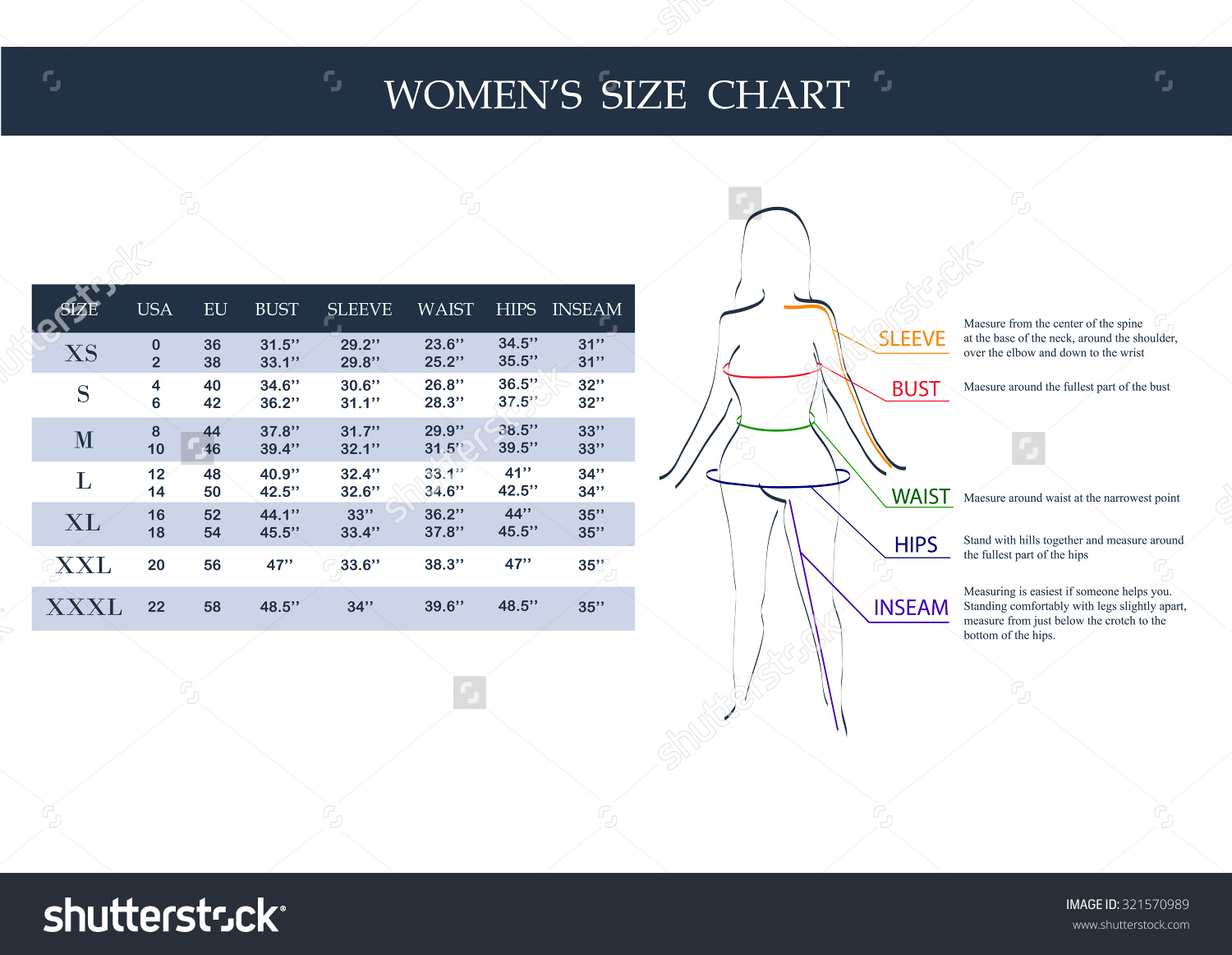 17+ Clothing Size Chart Templates - Word Excel Formats