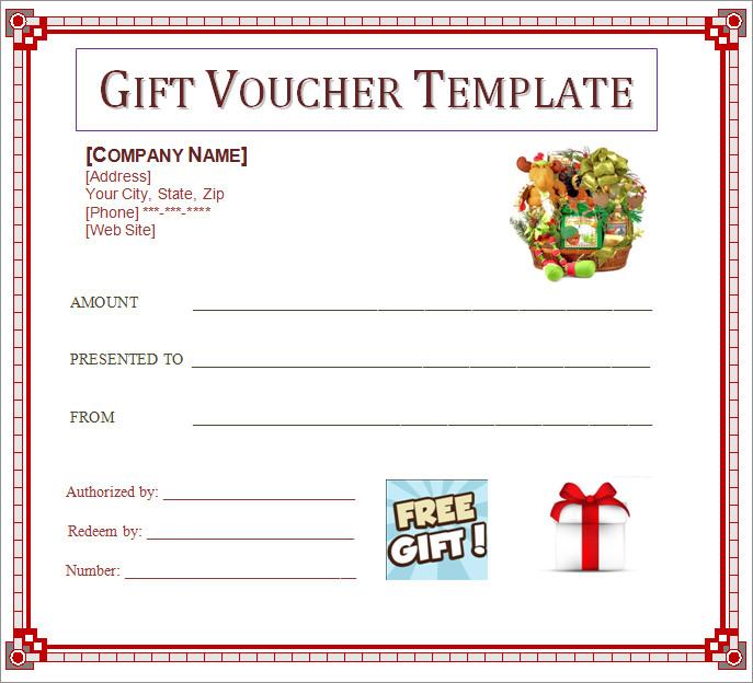 voucher template download word