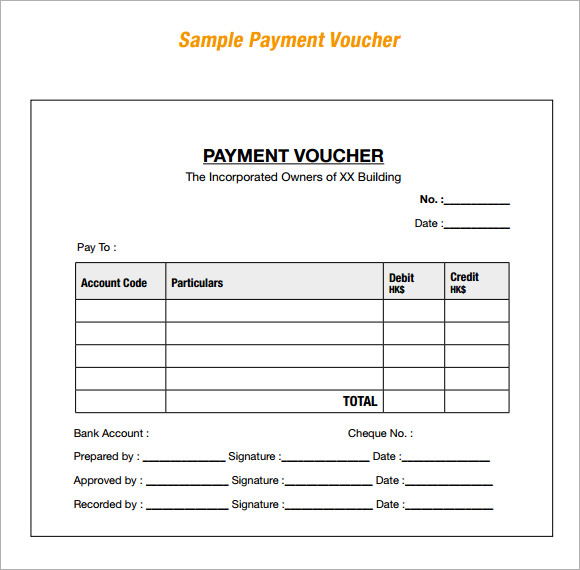 17+ Free Voucher Templates - Word Excel Formats