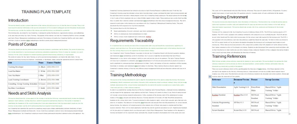 Microsoft Word Manual Template from www.wordtemplatesdocs.org