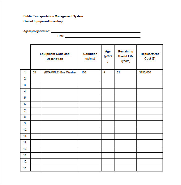 15 Free Maintenance Schedule Templates Word Excel Formats